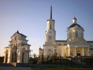 Christi-Verklärungs-Kathedrale in Newjansk