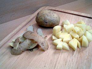 kartoffel, Die Kartoffel sollte in der Küche nicht fehlen