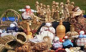 Schutzpuppen, Ural, Puppen, Skelett