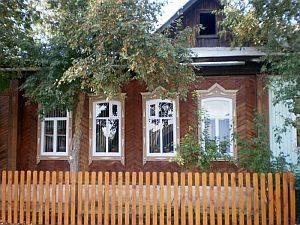 Russisches Bauernhaus Ural
