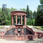 Brunnen, Elisabethenbrunnen, Kurpark, Bad Homburg