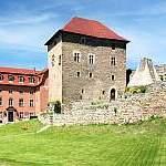 Wasserburg, Kapellendorf, Weimar, Panorama